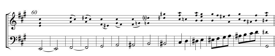 6) Basslinie Durchführung